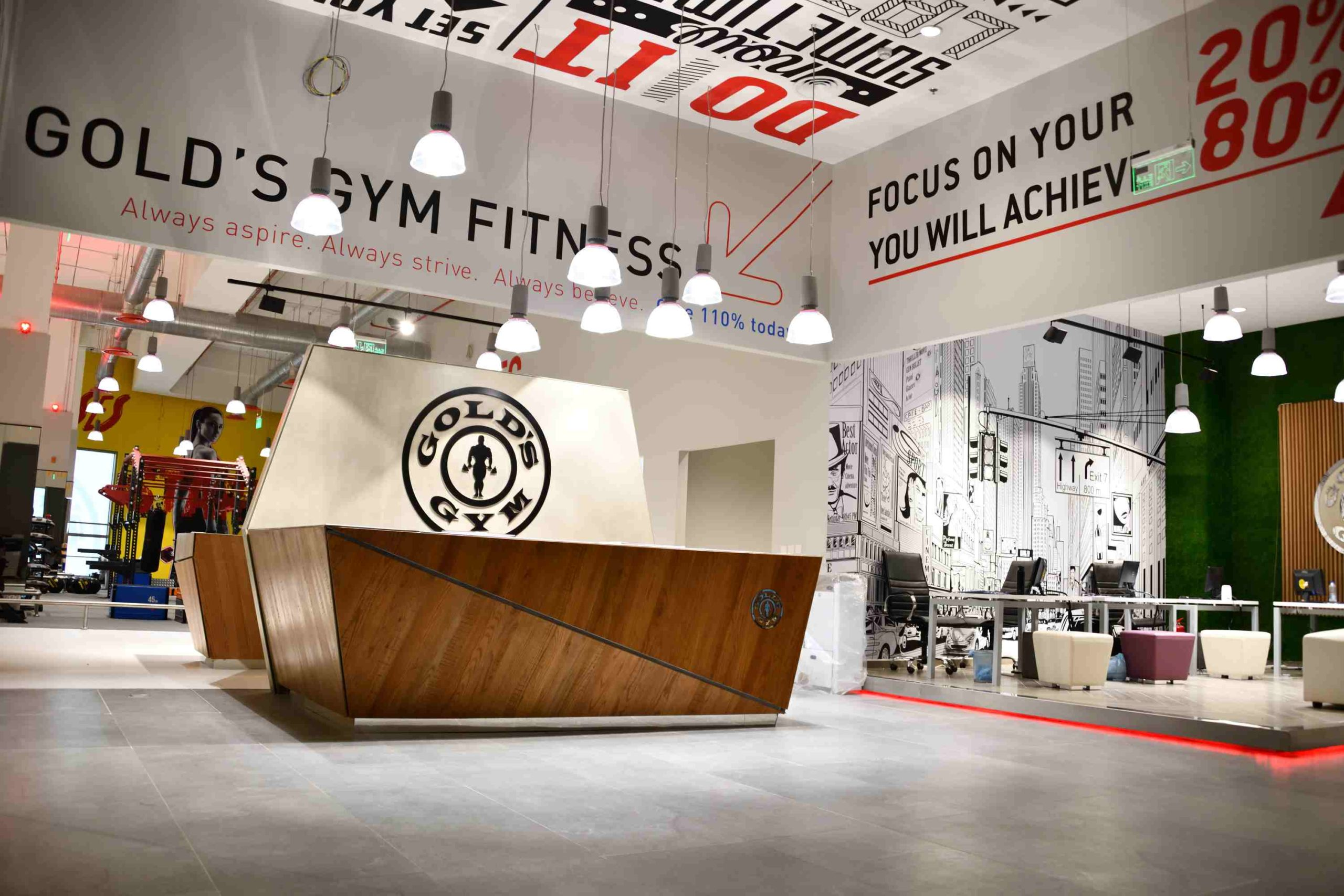 Gold's Gym Branch Opening